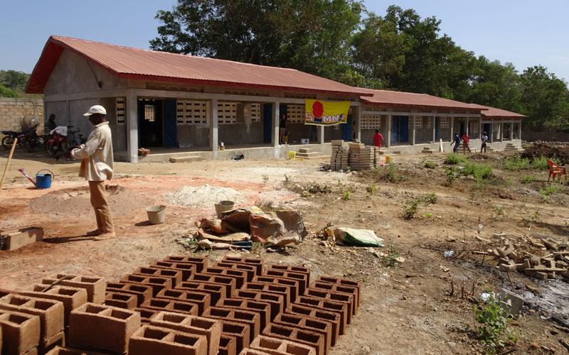 Die Baustelle im Februar 2016