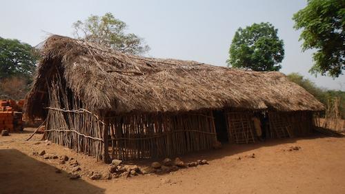 Die alte Schule in Hamdakonkoure