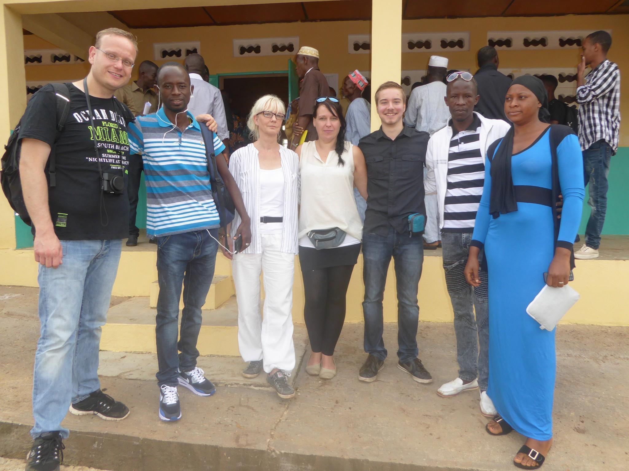 Delegation aus Deutschland