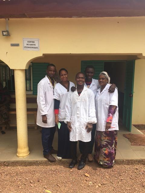 Das Team der Krankenstation