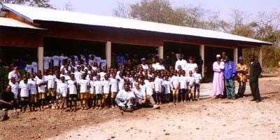 Grundschule Misside - Nachher: Die neu gebaute Schule