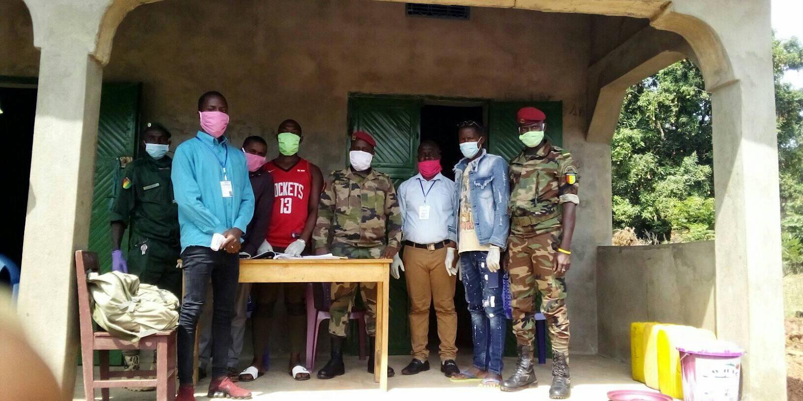 Gemeinsam gegen das Coronavirus in Guinea
